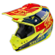 "TLD 2015 SE3 ""TEAM YELLOW"" CARBON FIBRE HELMET"
