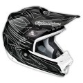 "TLD SE3 ""ONE SHOT WHITE"" CARBON FIBRE HELMET"