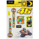 VALENTINO ROSSI STICKER KIT - LARGE (DUCATI - NEW)