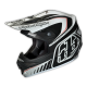 "TLD 2015 AIR ""DELTA"" HELMET MATTE BLACK WHITE"
