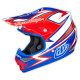"TLD 2015 AIR ""CHARGE"" HELMET WHITE BLUE"
