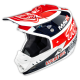 "TLD 2015 SE3 ""TEAM WHITE"" CARBON FIBRE HELMET"