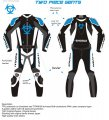 SHOGAI 2 PIECE RACE SUIT < blue >
