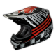 "TLD 2015 AIR ""ACE"" HELMET BLACK RED SILVER"