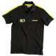 "VALENTINO ROSSI ""BLACK POLO"" T SHIRT"